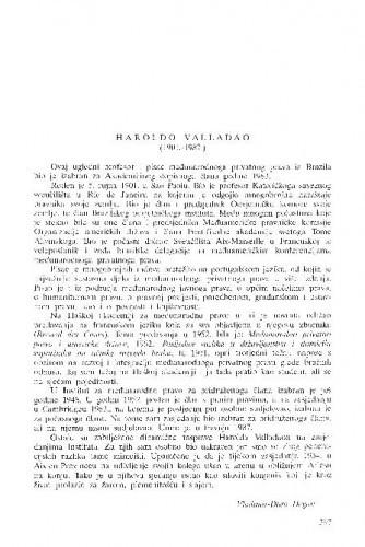 Haroldo Valladao (1901.-1987.)