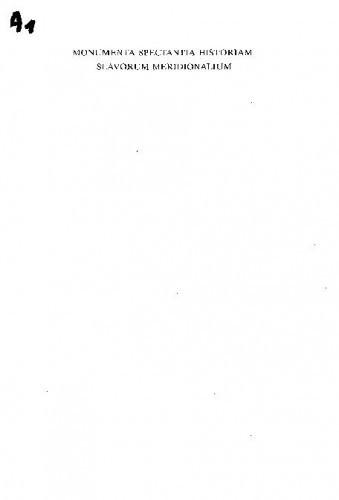 Obsidio Iadrensis : Opsada Zadra : volumen VI. ; manuscriptum postumum a Veljko Gortan exaratum digesserunt Branimir Glavičić et Vladimir Vratović cooperantibus Damir Karbić, Miroslav Kurelac, Zoran Ladić ; [glavni urednik Tomislav Raukar ;  prijevod na engleski Zoran Ladić, Matthew J. Suff, Goran Budeč]
