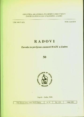Sv. 50(2008) / glavni i odgovorni urednik Franjo Šanjek