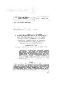 Krioturbacijske pojave u gornjopleistocenskim naslagama pećine Vindije kod Donje Voće u sjeverozapadnoj Hrvatskoj / M. Malez i D. Rukavina