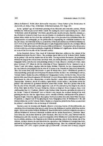 Nikola Božidarević. Veliki slikar dubrovačke renesanse / Great painter of the Renaissance in Dubrovnik, ed. Pavica Vilać. Dubrovnik: Dubrovački muzeji, 2017. : [prikaz]Tanja Trška