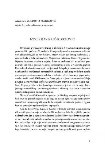 Nives Kavurić-Kurtović / Vladimir Marković