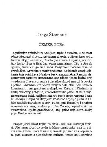 Čemer gora / Drago Štambuk