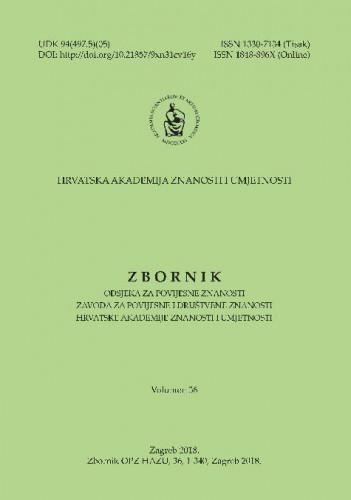 Vol. 36 (2018) / [glavni i odgovorni urednik Tomislav Raukar]