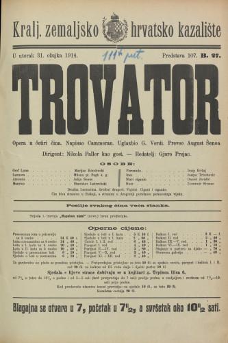 Trovator Opera u 4 čina