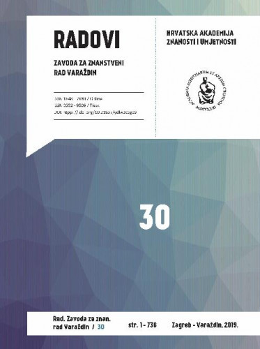 Knj. 30 (2019) / [glavni i odgovorni urednik Stjepan Damjanović ; urednik Vladimir Huzjan]