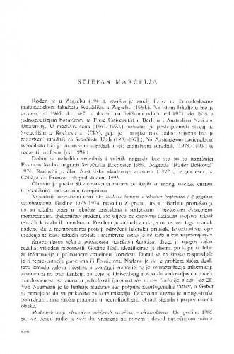 Stjepan Marčelja