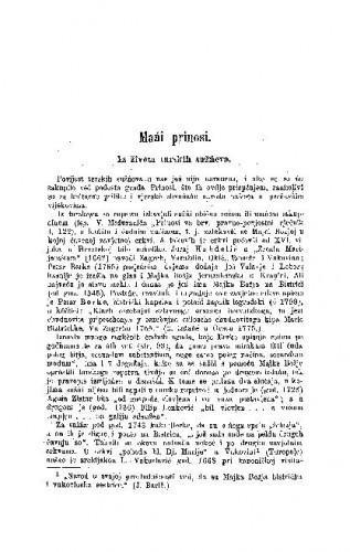 Iz života turskih sužńeva : mańi prinosi / D. Boranić