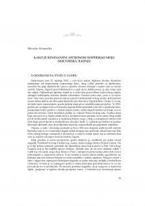 Kako je renesansni astronom inspirirao moju doktorsku radnju / Miroslav Hromadko