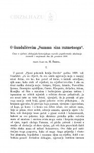O Gundulićevim