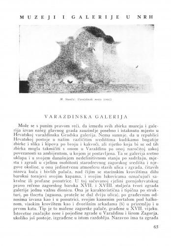Varaždinska galerija / Lj. B.