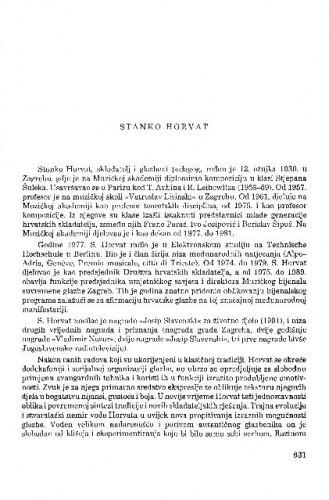 Stanko Horvat