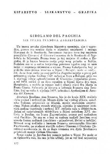 Girolamo del Pacchia sin Ivana Ivanova Zagrepčanina / Branimir Šenoa