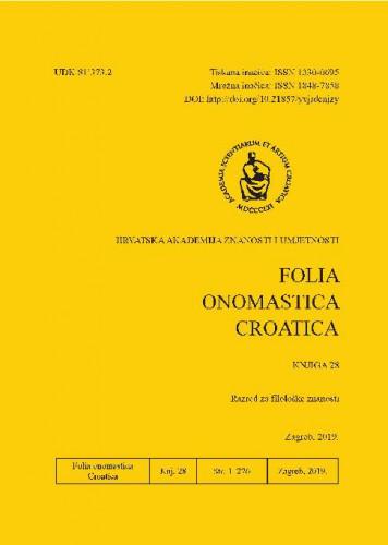 Knj. 28 (2019) / glavna i odgovorna urednica Anđela Frančić