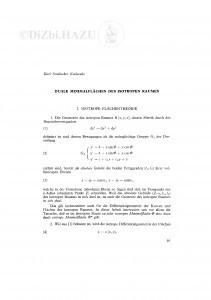 Duale Minimalflächen des isotropen Raumes / K. Strubecker