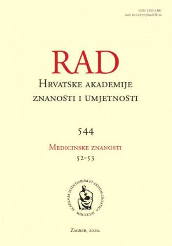 Knj. 52-53(2020) / editor in chief = glavni i odgovorni urednik Marko Pećina