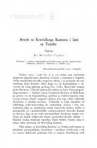 Arsoit sa Kravičkoga Kamena i latit sa Tumbe / M. Tajder