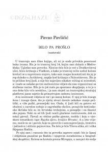 Bilo pa prošlo : (nastavak) : [memoarska proza] / Pavao Pavličić