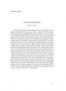 Dušan Karpatský : 1935.-2017.
