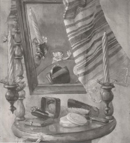 Raškaj, Slava (1877-1906) : Mrtva priroda s ogledalom