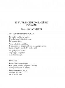 Iz suvremene norveške poezije