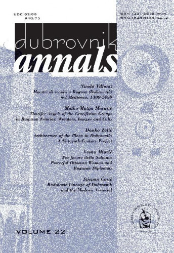 Vol. 22 (2018) / editor in chief Nenad Vekarić