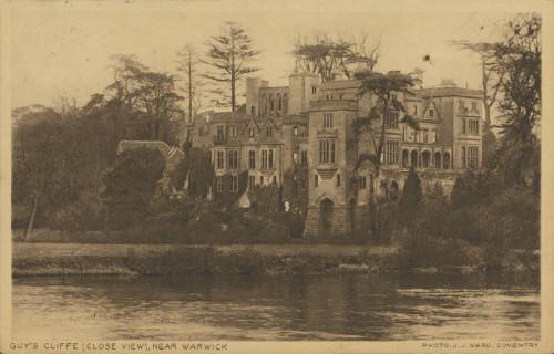 Razglednica Naste Rojc Antunu Ullrichu, Stratfield Saye, 21.5.1925.