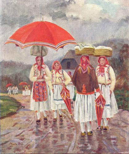 Rojc, Nasta(1883-1964): Narodna nošnja ]