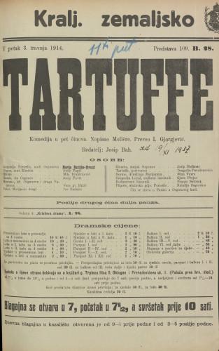 Tartuffe : Komedija u 5 činova