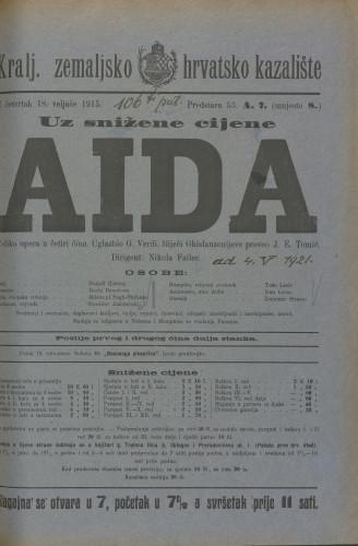 Aida Velika opera u 4 čina