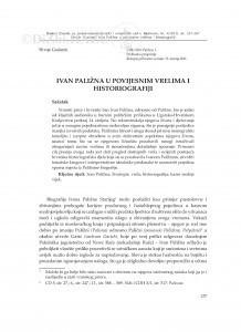 Ivan Paližna u povijesnim vrelima i historiografiji / Hrvoje Gračanin