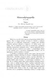 Histerosalpingografija / M. Smokvina