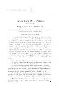 Bartuo Kašić D. I. Pažanin : (1575-1650.) : prilog za ńegov život i kńiževni rad / M. Stojković