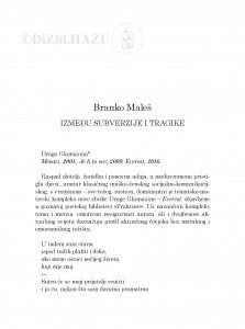 Između subverzije i tragike / Branko Maleš