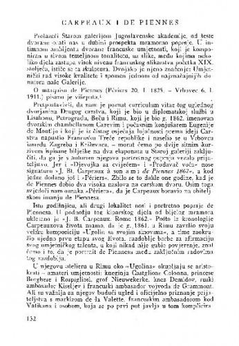 Carpeaux i De Piennes / Zdenko Šenoa