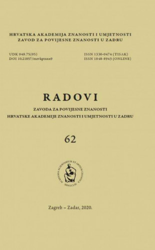 Sv. 62(2020) / [glavni i odgovorni urednik Nenad Cambi ; urednik Tado Oršolić]
