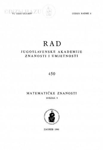 Sv. 9(1990)=knj. 39=knj. 450 / urednik Vladimir Volenec