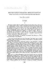 Bunjevačko-šokačka bibliografija : prilog kulturnoj povijesti bunjevačko-šokačkih Hrvata / I. Kujundžić