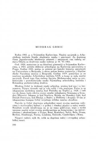Miodrag Grbić