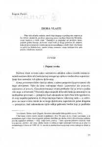 Dioba vlasti / Eugen Pusić