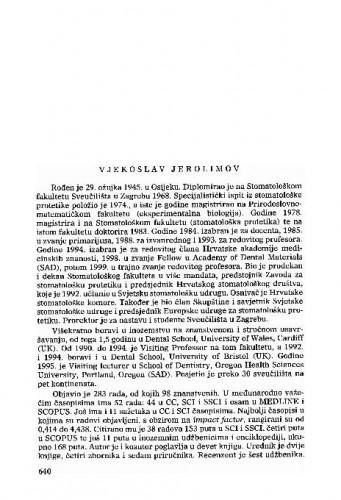 Vjekoslav Jerolimov