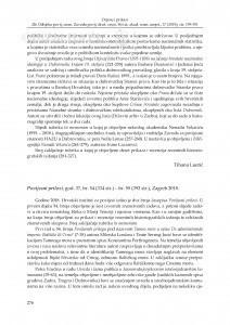 Povijesni prilozi, god. 37, br. 54 – br. 55, Zagreb 2018. : [prikaz] / Tihana Luetić
