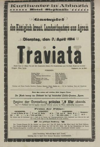Traviata Grosse Oper in 3 Akten