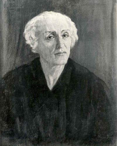Rojc, Nasta (1883-1964) : Portret [Grčević, Mladen (1918-10-8 2011-7-13) ]