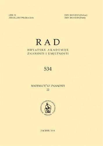 Sv. 22(2018)=knj. 57 / glavni urednik Andrej Dujella