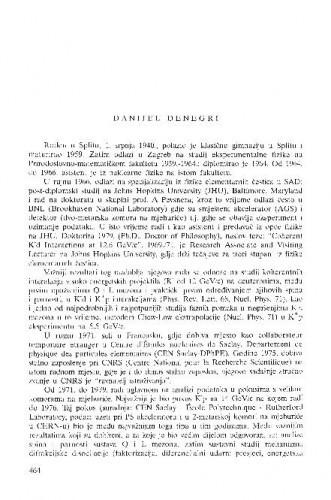 Danijel Denegri