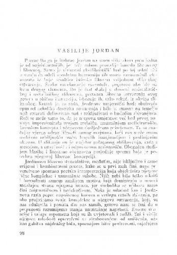 Vasilije Jordan / Veno Zlamalik