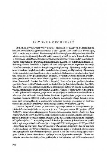 Lovorka Grgurević