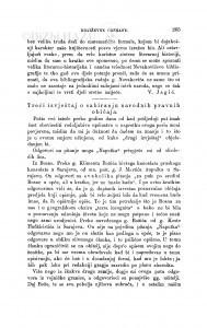 Treći izvještaj o sabiranju narodnih pravnih običaja / V. Bogišić