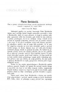 Pleme Berislavića / M. Mesić